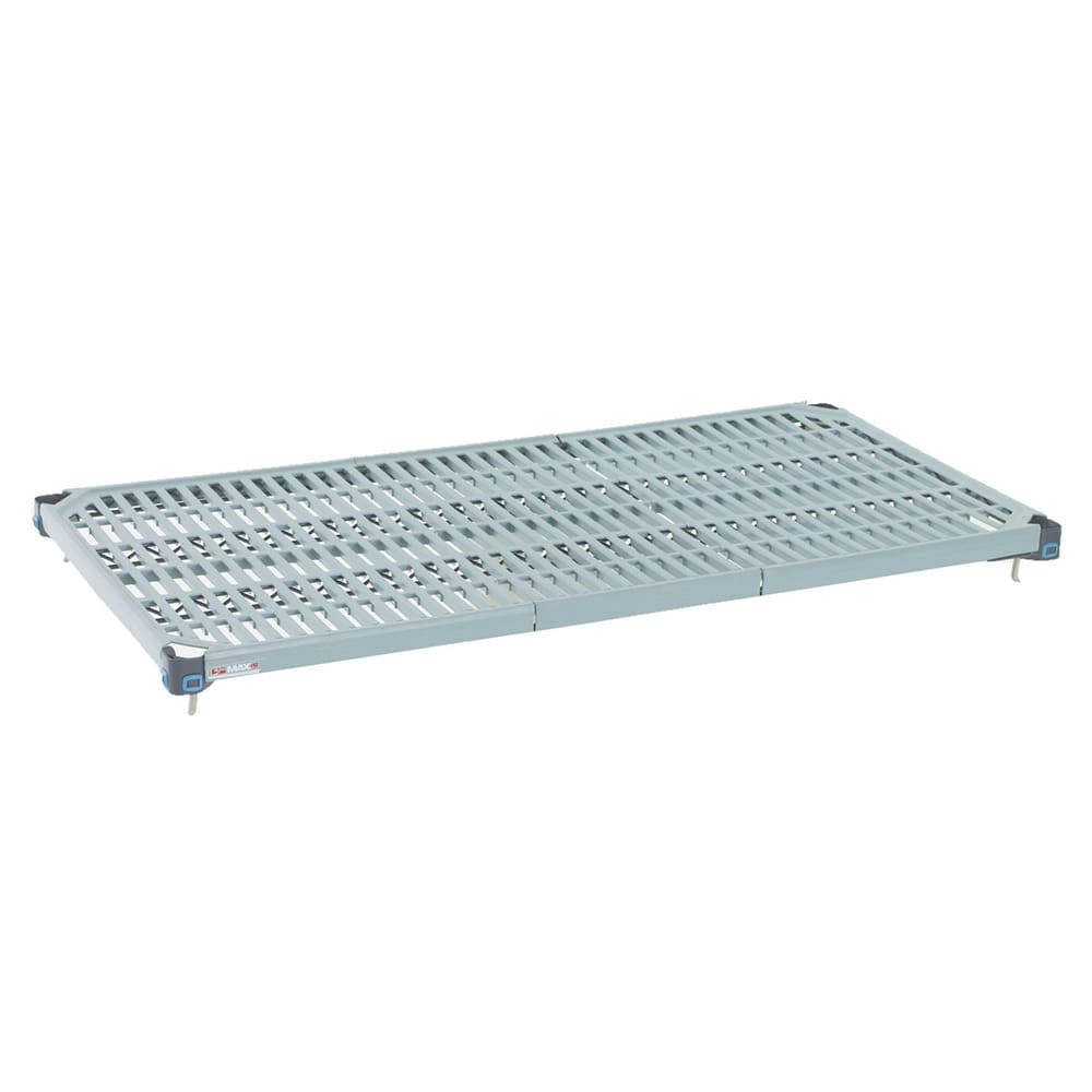 "Metro MQ2472G MetroMax Q™ Polymer Louvered Shelf - 72""W x 24""D"