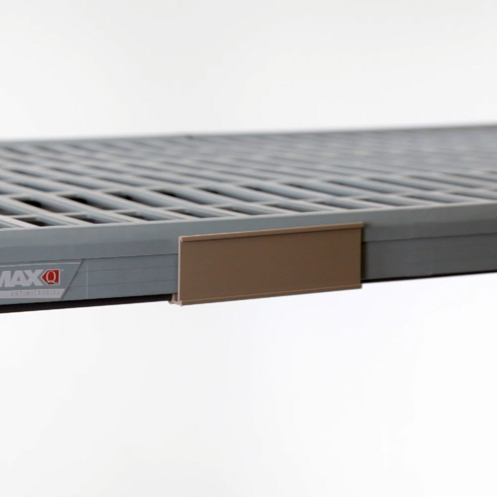 "Metro MQ60LH 51.44"" Label Holder for MetroMaxQ™ or Super Erecta Pro™ Shelves, Plastic"