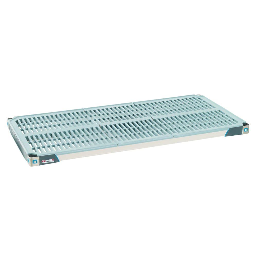 "Metro MX1860G Polymer Louvered Shelf - 60""L x 18""W"