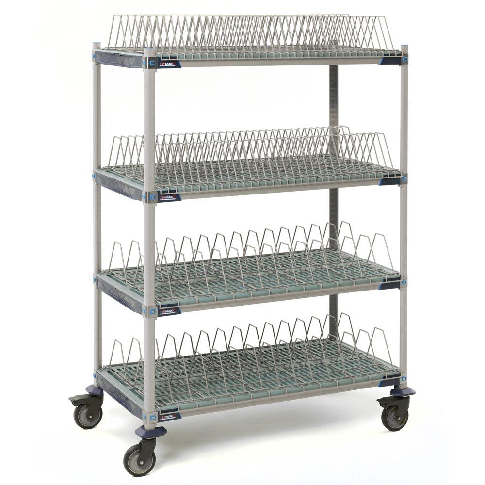 Metro PR48VX4 4-Level Mobile Drying Rack for Trays