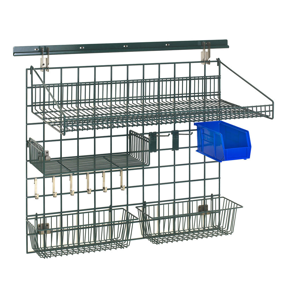 """Metro SWK36-1A2-SR 40"""" Wire Wall Mounted Shelving w/ Mounting Hardware"""