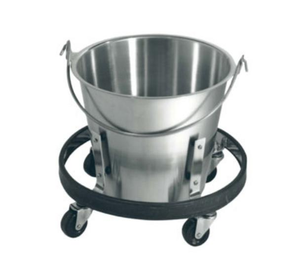 Polar Ware 1014-STAND Pail Stand on Caster Wheels Only