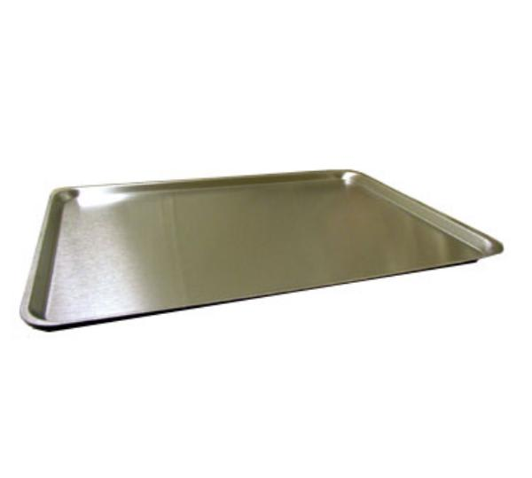 Polar Ware 25F Rectangular Serving Tray, Stainless Steel, 25 in x 20 in x 5/8 in Deep