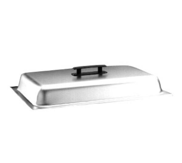 Polar Ware 4045-2 Full Size Chafer Cover Only, Stainless Steel with Black Plastic Handle