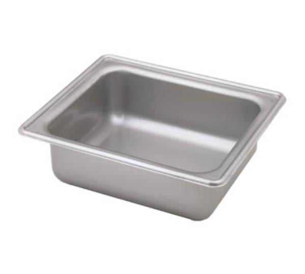 Polar Ware 544D Dripless Chafer Water Pan, 1/2 Size, Stainless Steel