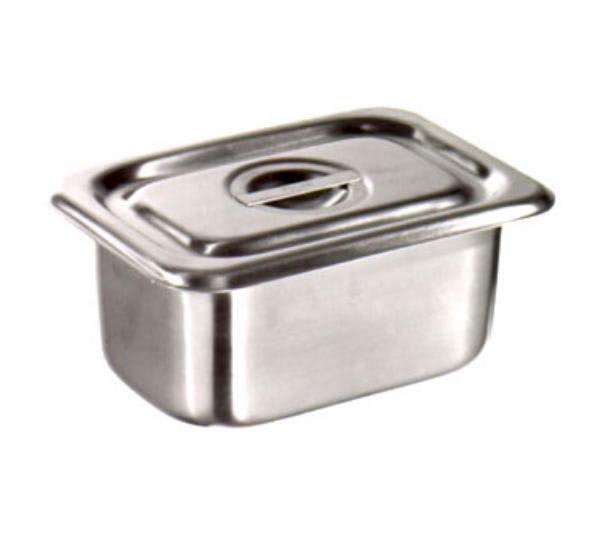 Polar Ware 952-PAN Utility Pan, 1-1/8 qt., No Handles, Stainless Steel, NSF