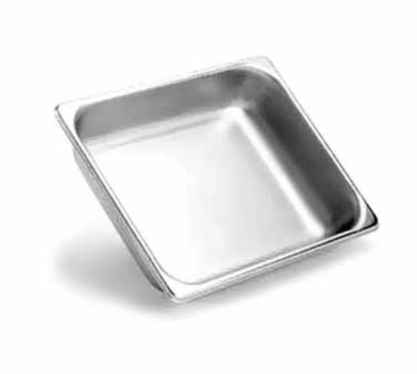 Polar Ware E12102 1/2-Size Steam Pan, 2-1/2-in Deep, 22-Ga. Stainless