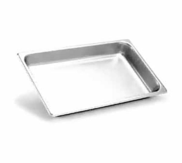Polar Ware E20124 Steam Table Pan, Full Size, 4 in Deep, 22 Gauge SS, NSF