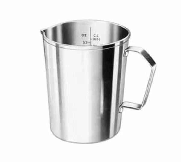 Polar Ware T1062 Graduated Measure, 16 oz., Stainless Steel with Handle