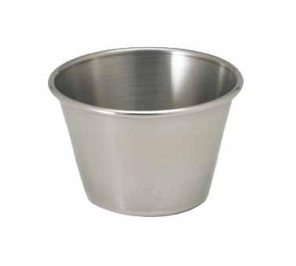 Polar Ware T1113 2-1/2 oz Sauce Cup, Stainless Steel