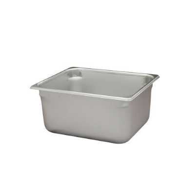 Polar Ware VX126 10-1/4 qt Value Series Steam Table Pan, Half Size, 6 in Deep, Solid