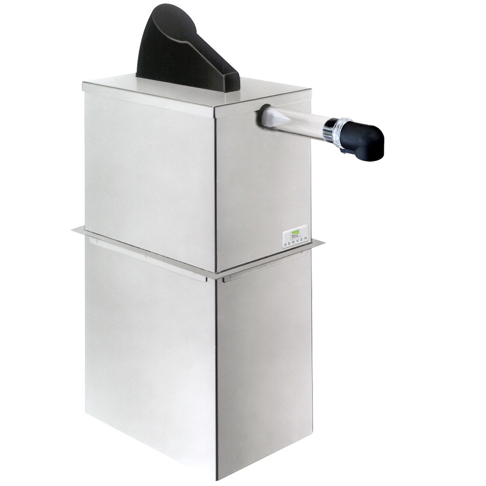 Server 07020 1.5 Gallon Dispenser, Portion Control For 1 Pouch, Stainless