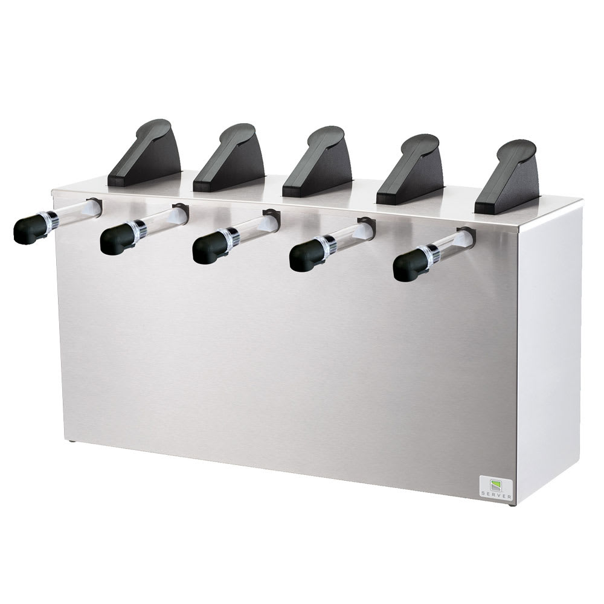Server 07060 SE-5 Server Express, 5 Pumps, SS Base & Lid, 1 oz. Yield, NSF