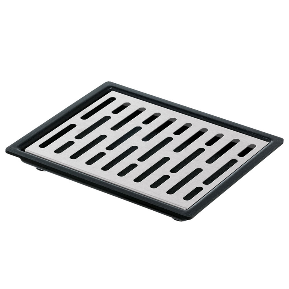 "Server 07291 Single Drip Tray Assembly, 6-7/8"" X 5-7/8"", Set On or Drop-In Countertop"