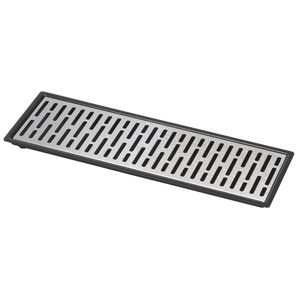 "Server 07295 Triple Drip Tray Assembly, 16 7/8"" X 5 7/8 in, Set On or Drop-In Countertop"
