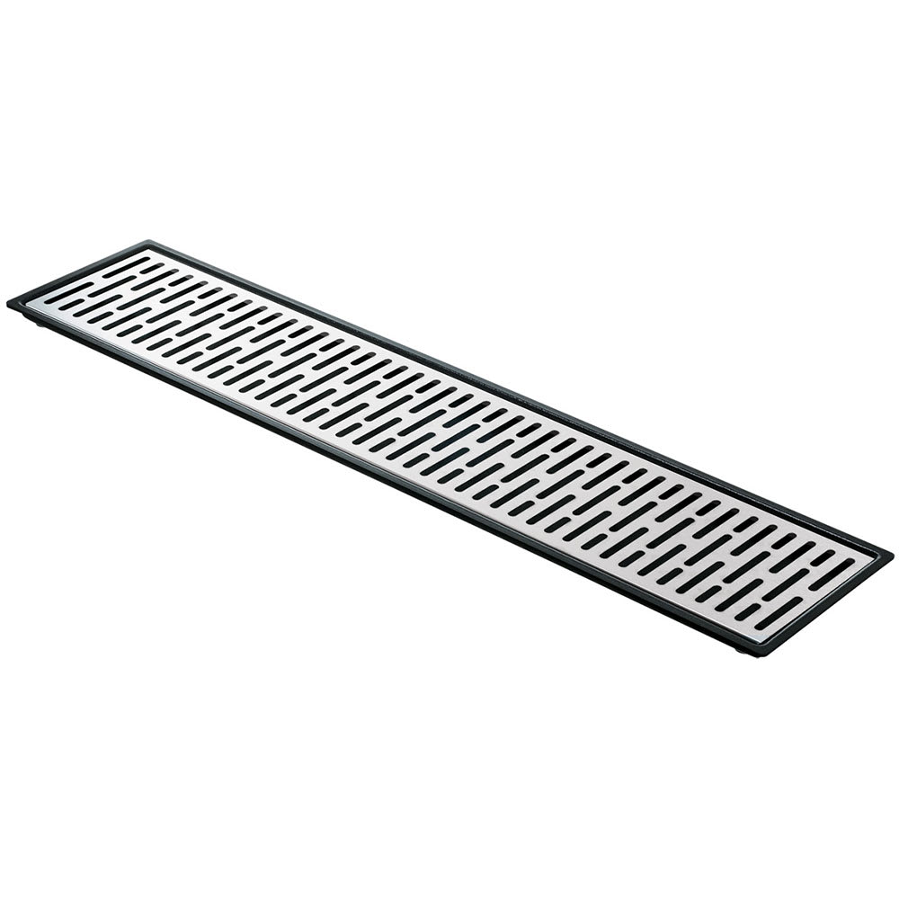 """Server 07299 Quintuple Drip Tray Assembly, 27 11/16"""" X 5 7/8 in, Set On or Drop-In Countertop"""
