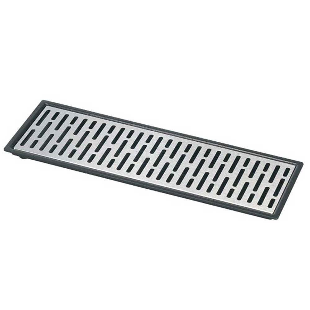 """Server 07324 Quad Drip Tray Assembly, 22-3/16"""" X 5-7/8 in, Set On or Drop-In Countertop"""