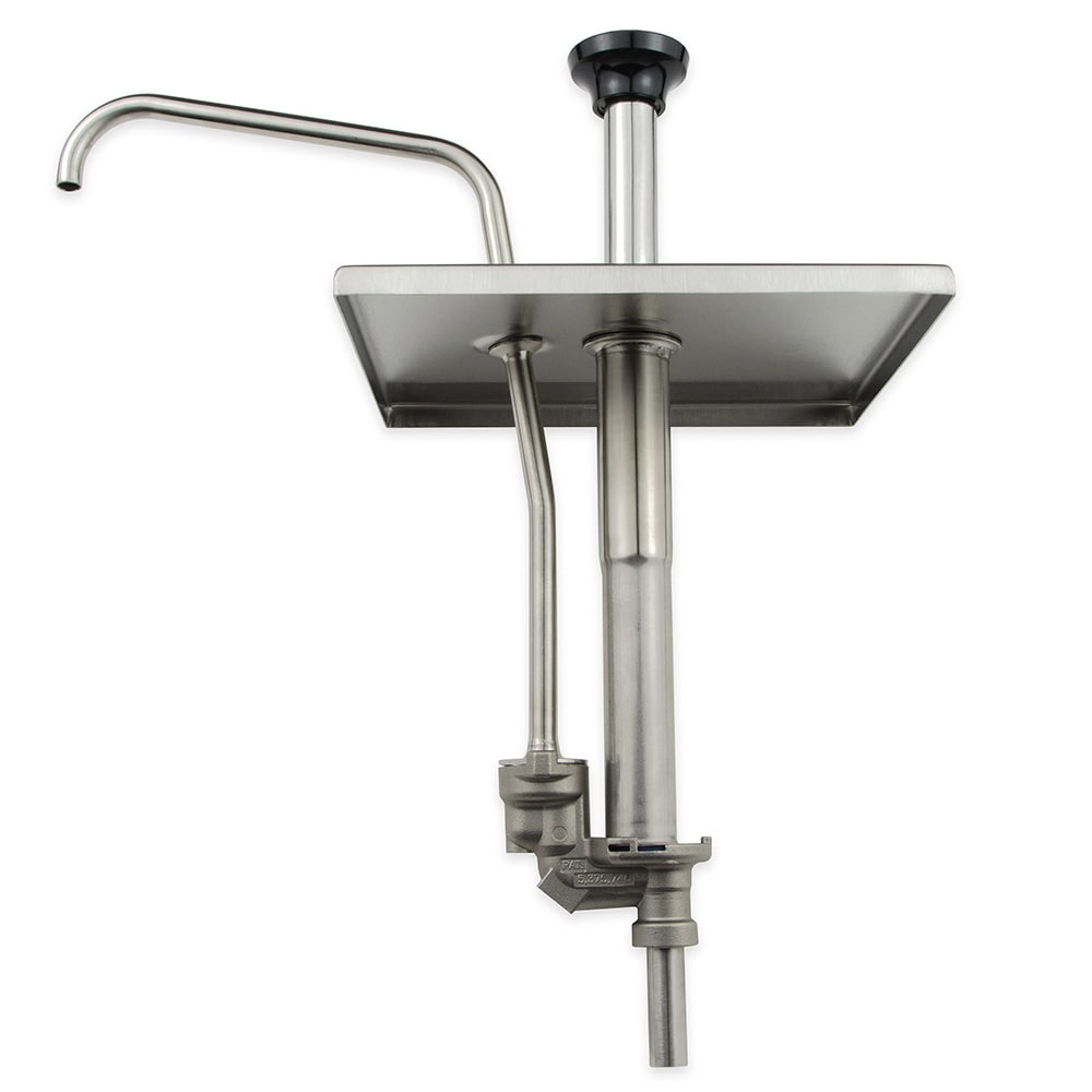 Server 67540 Condiment Dispenser Pump Only w/ 1 oz/Stroke Capacity, Stainless