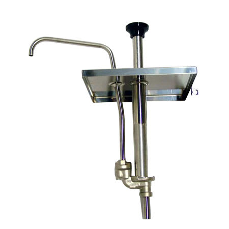 Server 67570 Condiment Dispenser Pump Only w/ 1-oz/Stroke Capacity, Stainless