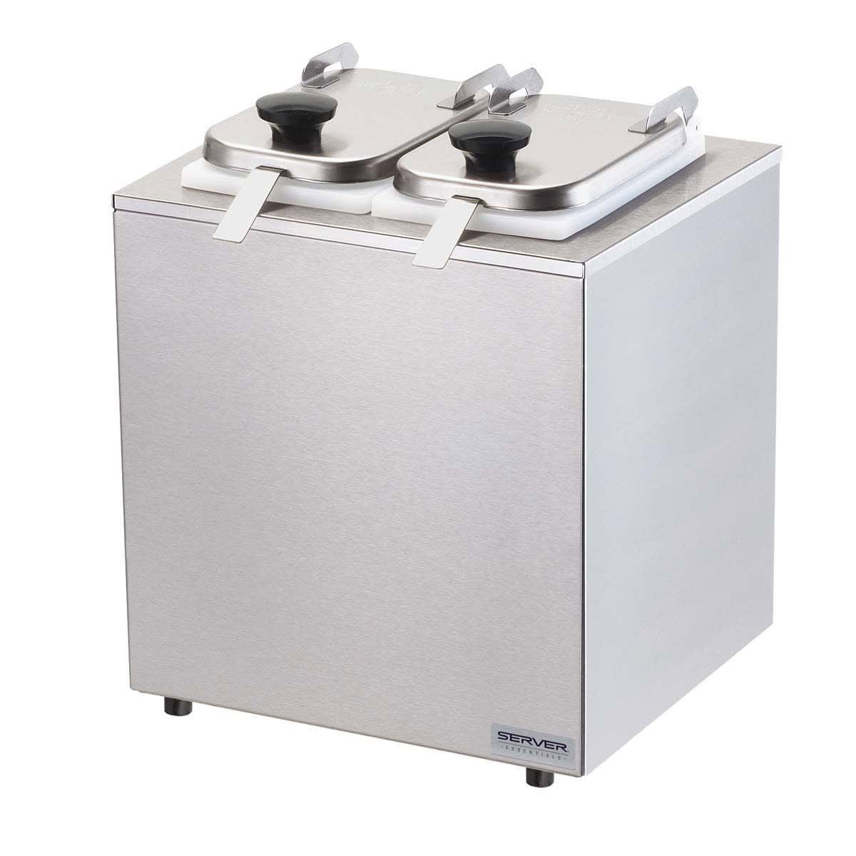 Server 79930 Dipper-Style Topping Dispenser w/ (2) 1-oz Ladles, Stainless
