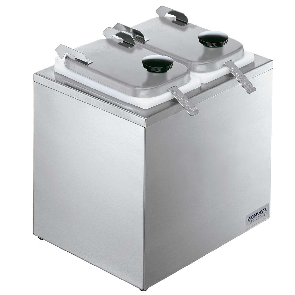 Server 80570 Dipper-Style Topping Dispenser w/ (2) 1 oz Ladles, Stainless