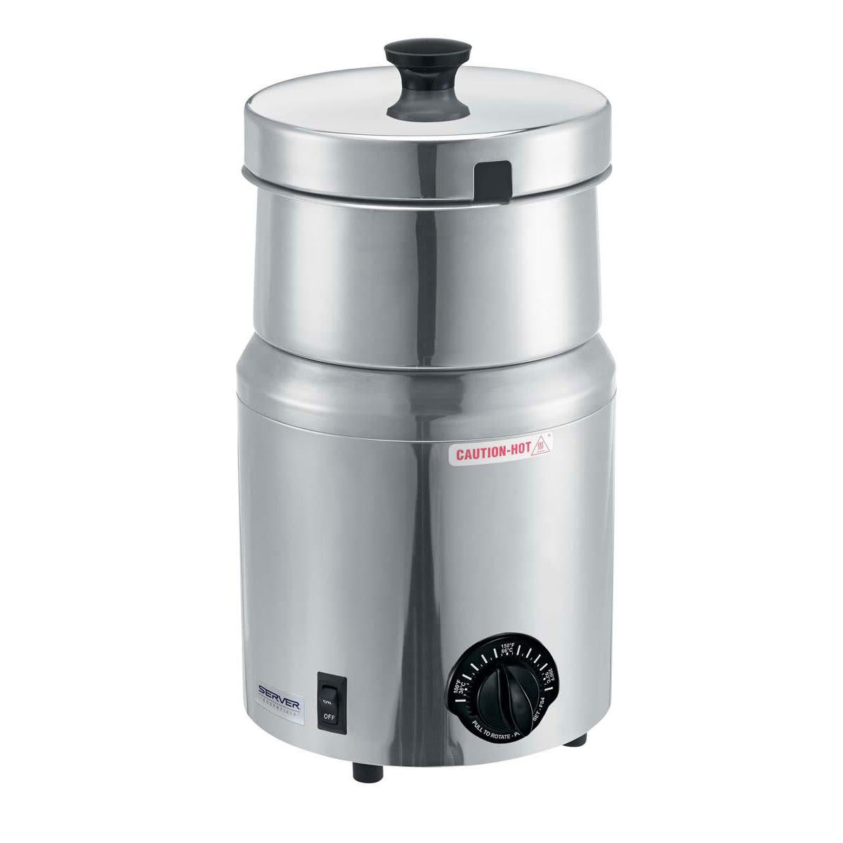 Server 81000 5 qt Countertop Soup Warmer w/ Thermostatic Controls, 120v