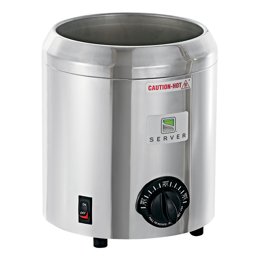 Server 82066 3-qt Soup Warmer Base Only w/ Thermostatic Controls, 120v