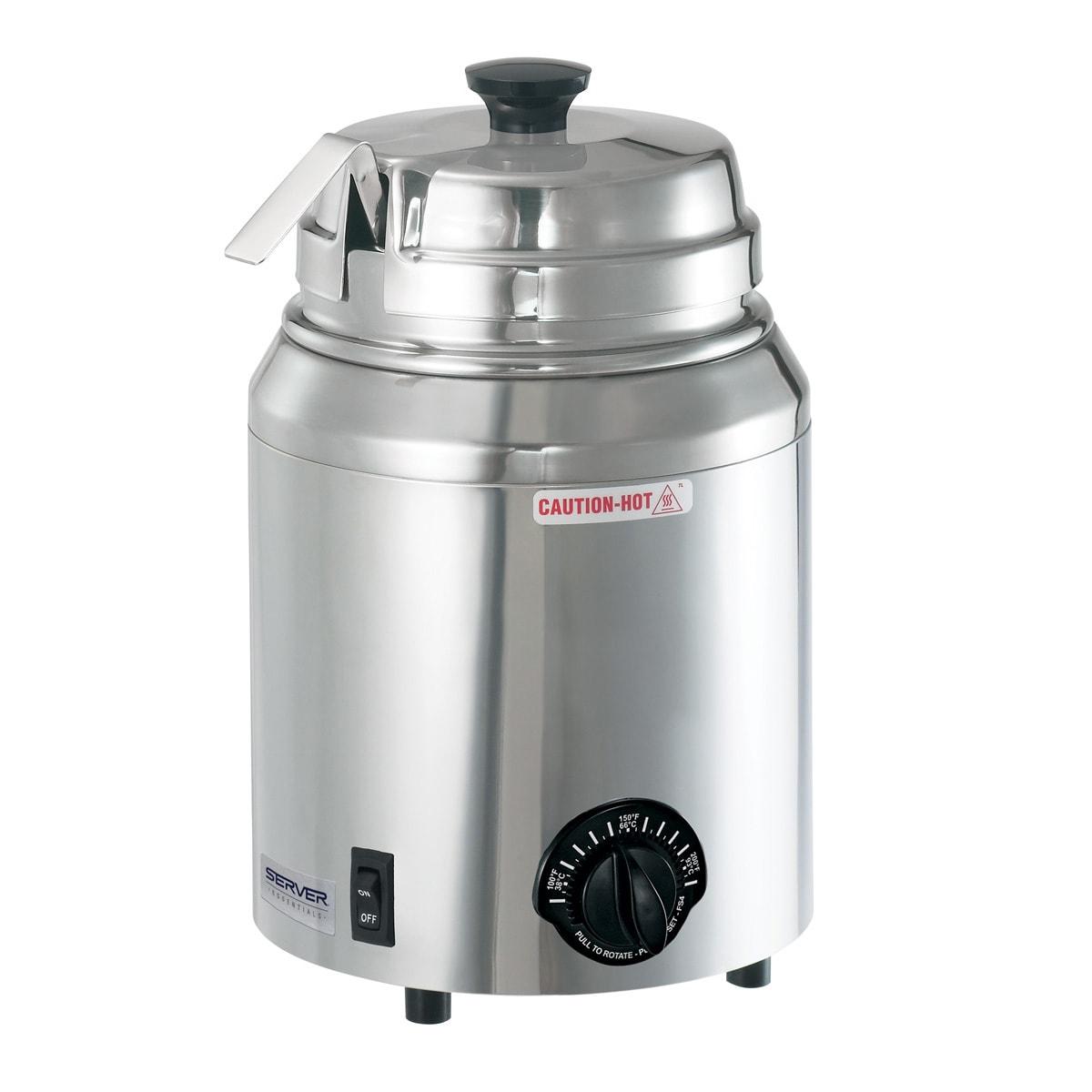 Server 82500 Food Server - Ladle, For Rethermalization, Stainless Steel Water Bath Warmer