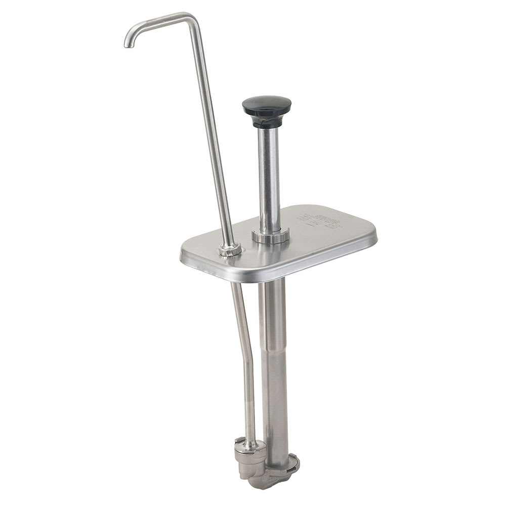 Server 82520 Condiment Dispenser Pump Only w/ 1.25-oz/Stroke Capacity, Stainless