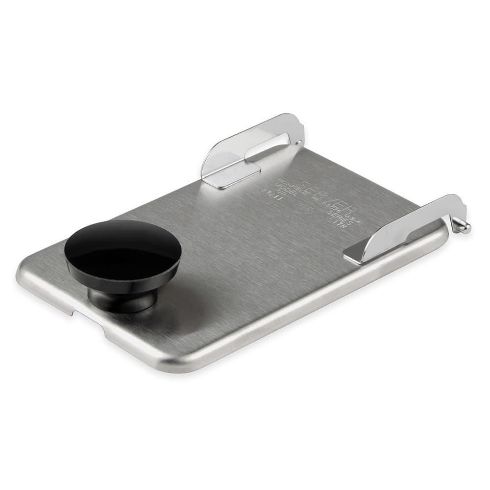 Server 82545 Hinged Fountain Jar Lid, Stainless