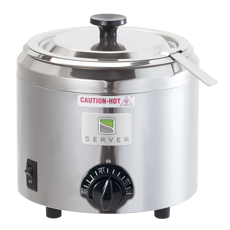 Server 82700 1.5 qt Countertop Topping Warmer w/ Thermostatic Controls, 120v
