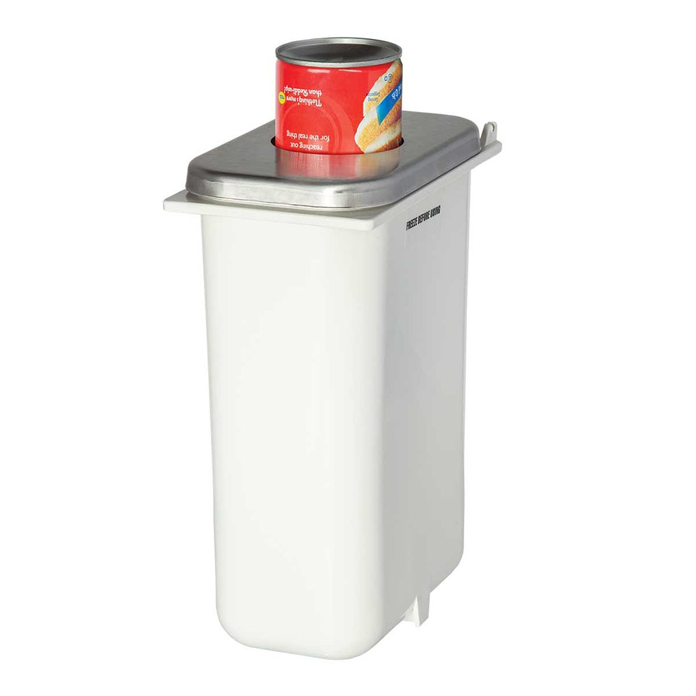 Server 82847 Whipped Topping Can Holder for 14 15 oz Cans, White