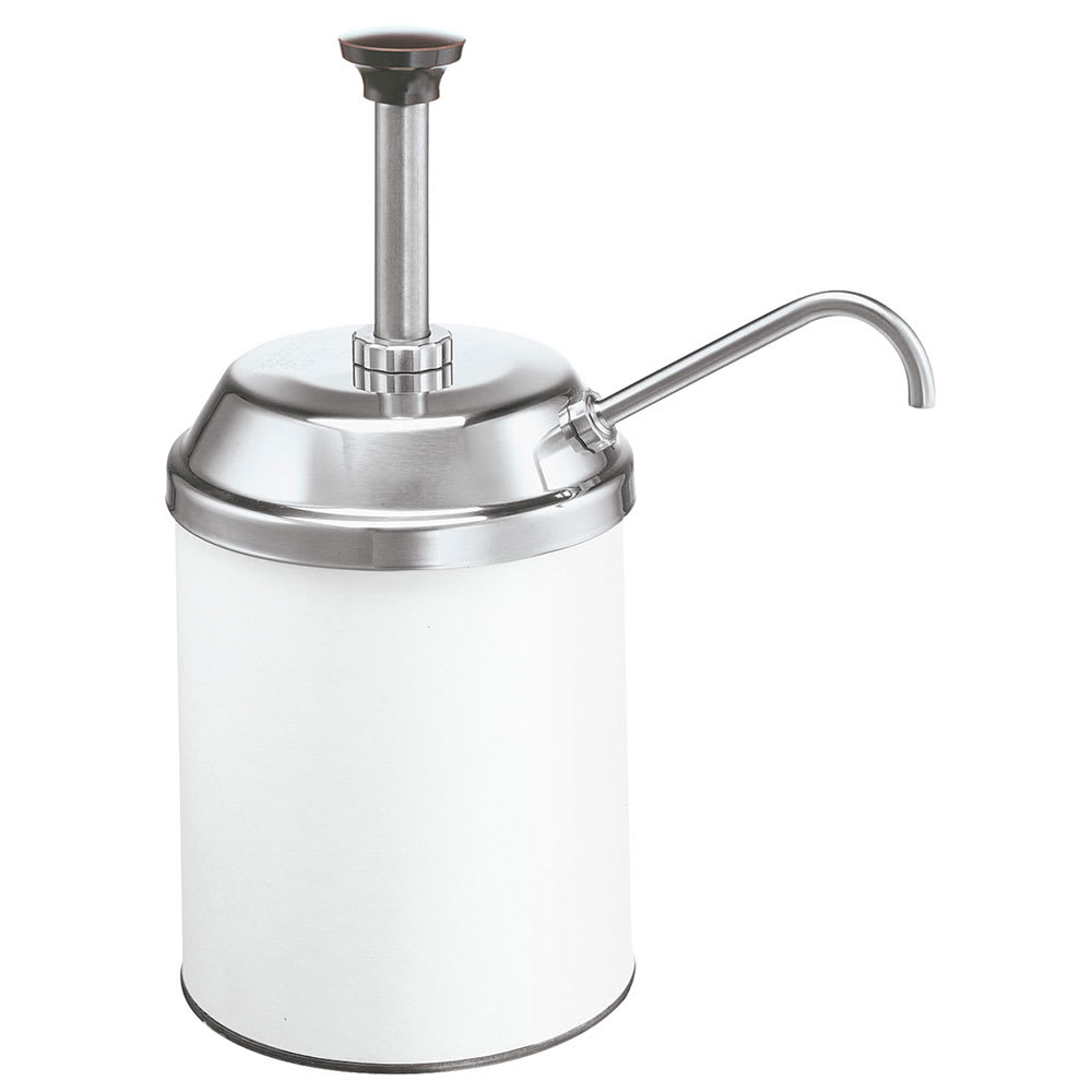 Server 83000 Condiment Syrup Pump w/ 1-oz/Stroke Capacity, Stainless