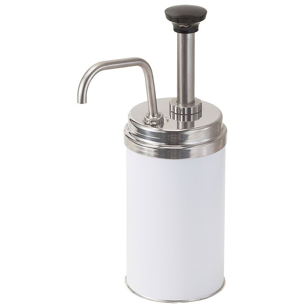 Server 83020 Condiment Syrup Pump w/ 1 oz/Stroke Capacity, Stainless