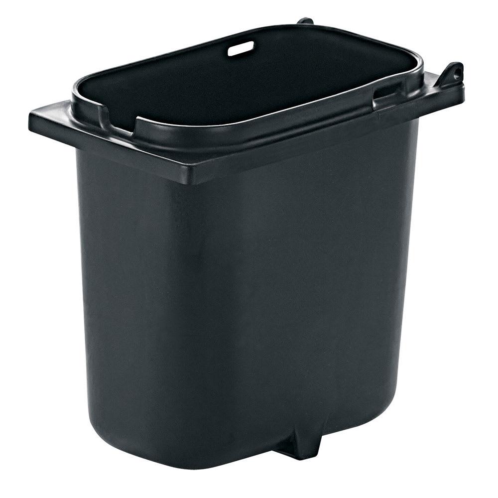 Server 83147 2 qt Fountain Jar w/ Notch for Ladle, Polypropylene, Black