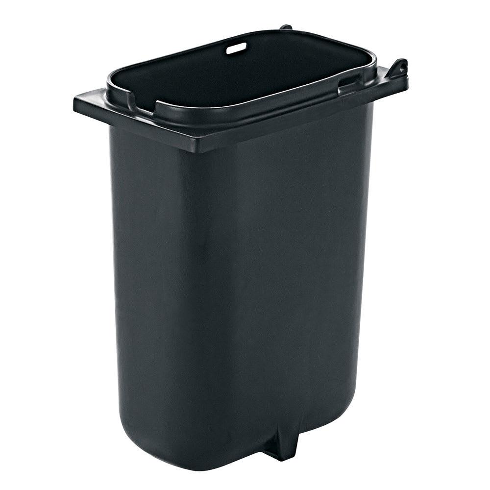 Server 83149 3.5-qt Fountain Jar w/ Notch for Ladle, Polypropylene, Black