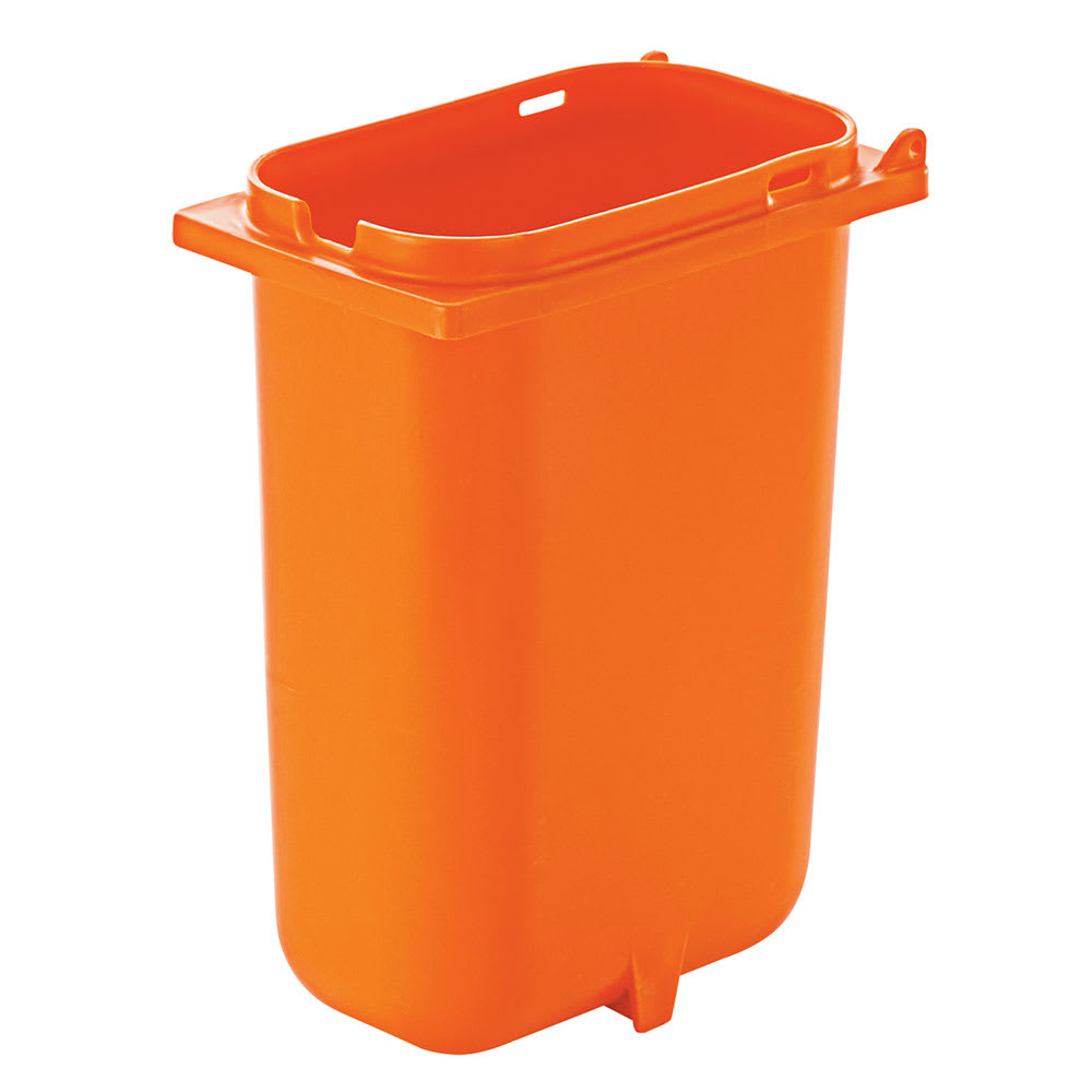 Server 83156 3.5-qt Fountain Jar w/ Notch for Ladle, Polypropylene, Orange