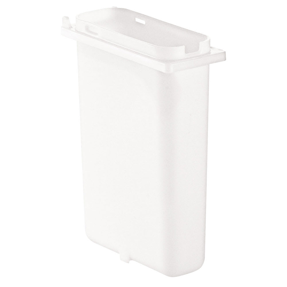 Server 83182 2 qt Slim Fountain Jar, Plastic, White