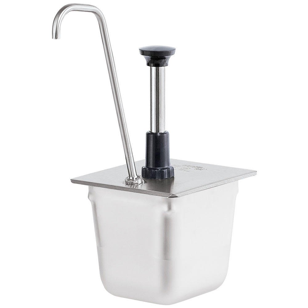 Server 83433 Condiment Syrup Pump Only w/ 1-oz/Stroke Capacity, Stainless