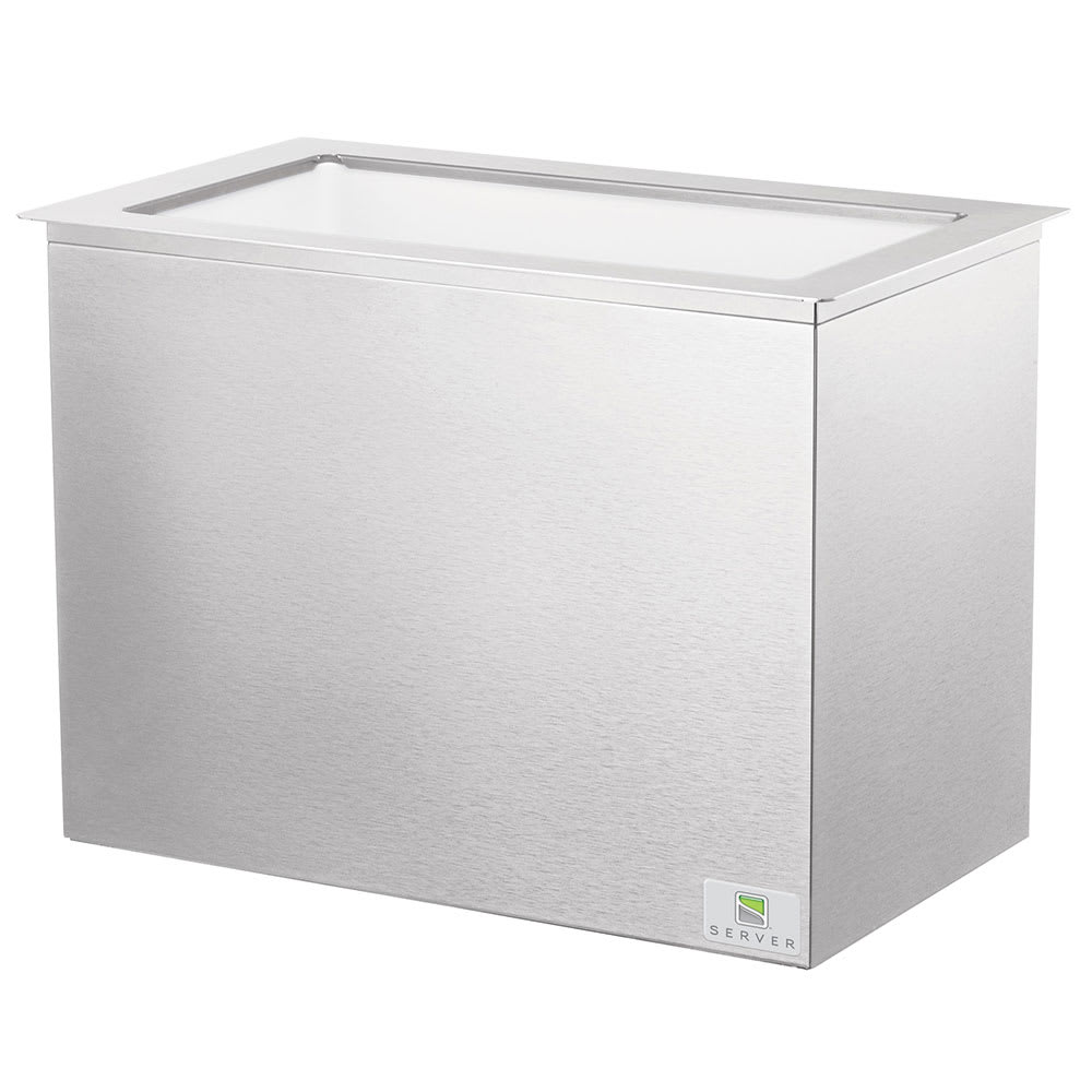 Server 83830 Serving Bar Base for (3) Standard Fountain Jars, Stainless
