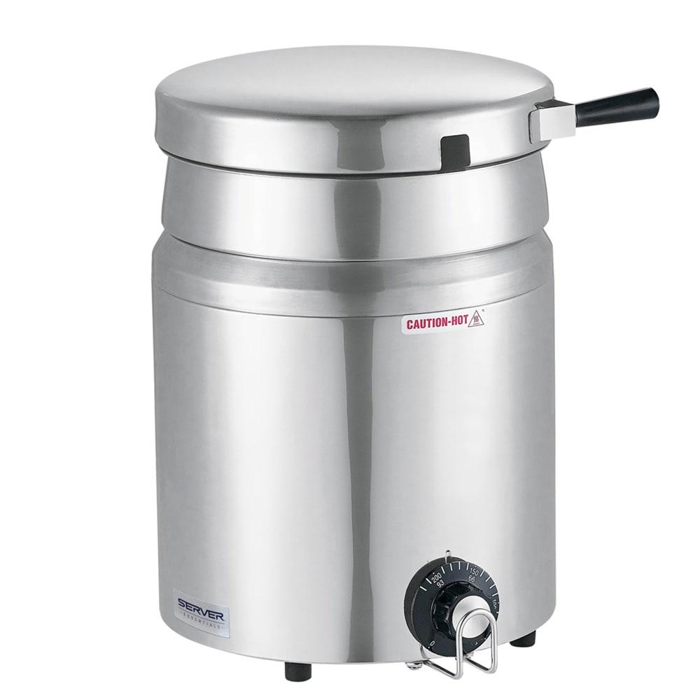 Server 84000 7 qt Countertop Soup Warmer w/ Thermostatic Controls, 120v