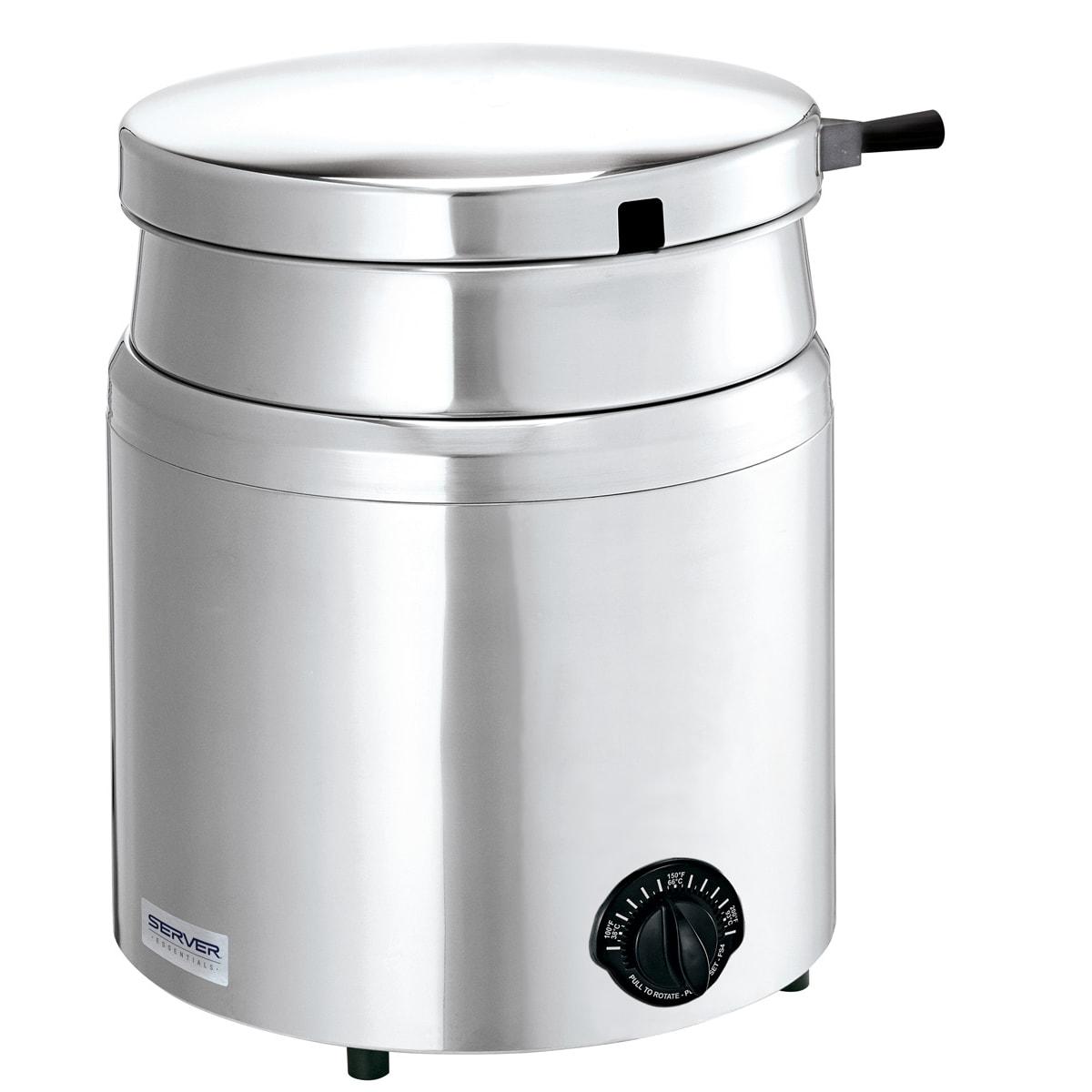 Server 84100 11 qt Countertop Soup Warmer w/ Thermostatic Controls, 120v