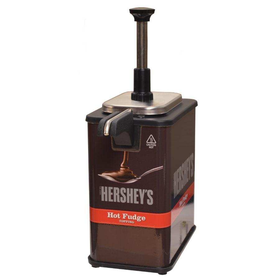 Server 84967 Hershey's Hot Fudge Single EZ-Topper™ Warmer w/ 1 oz Pump, 120v