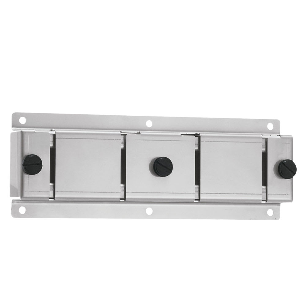 Server 87217 Wall Mount Bracket, 2 Slot, For Topping Tunnel / Dry Product Dispenser