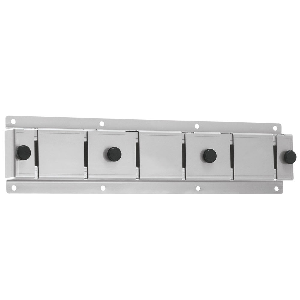 Server 87218 Wall Mount Bracket, 3 Slot, For Topping Tunnel / Dry Product Dispenser
