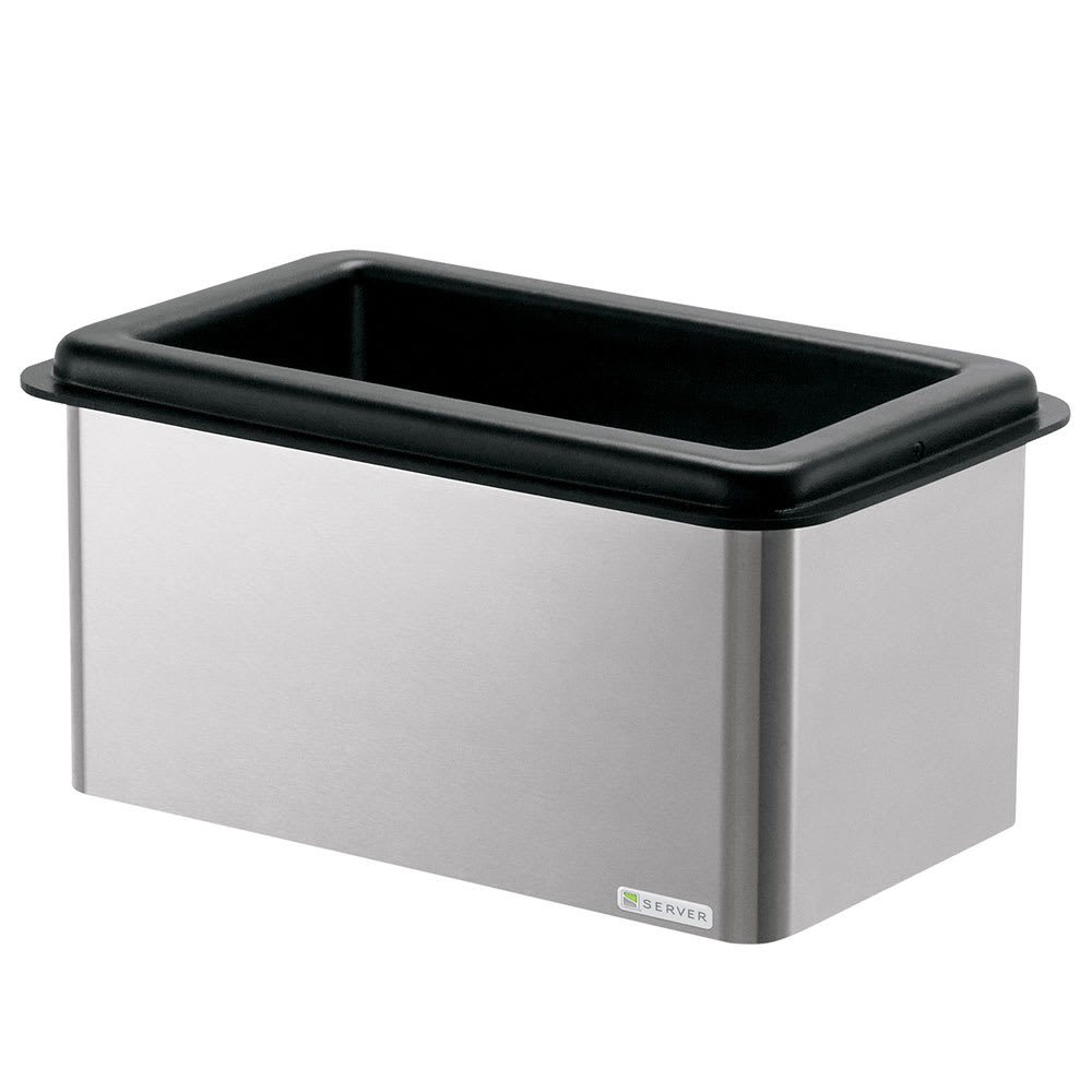 Server 87430 Drop In Mini Bar Combo w/ Insulated Base, Holds (3) 1/9-Size Jars