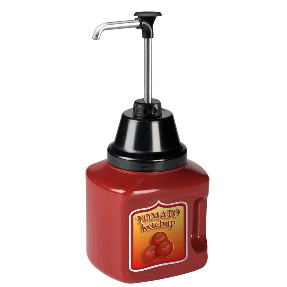 Server 88010 Condiment Syrup Pump Only w/ 1-oz/Stroke Capacity, Stainless