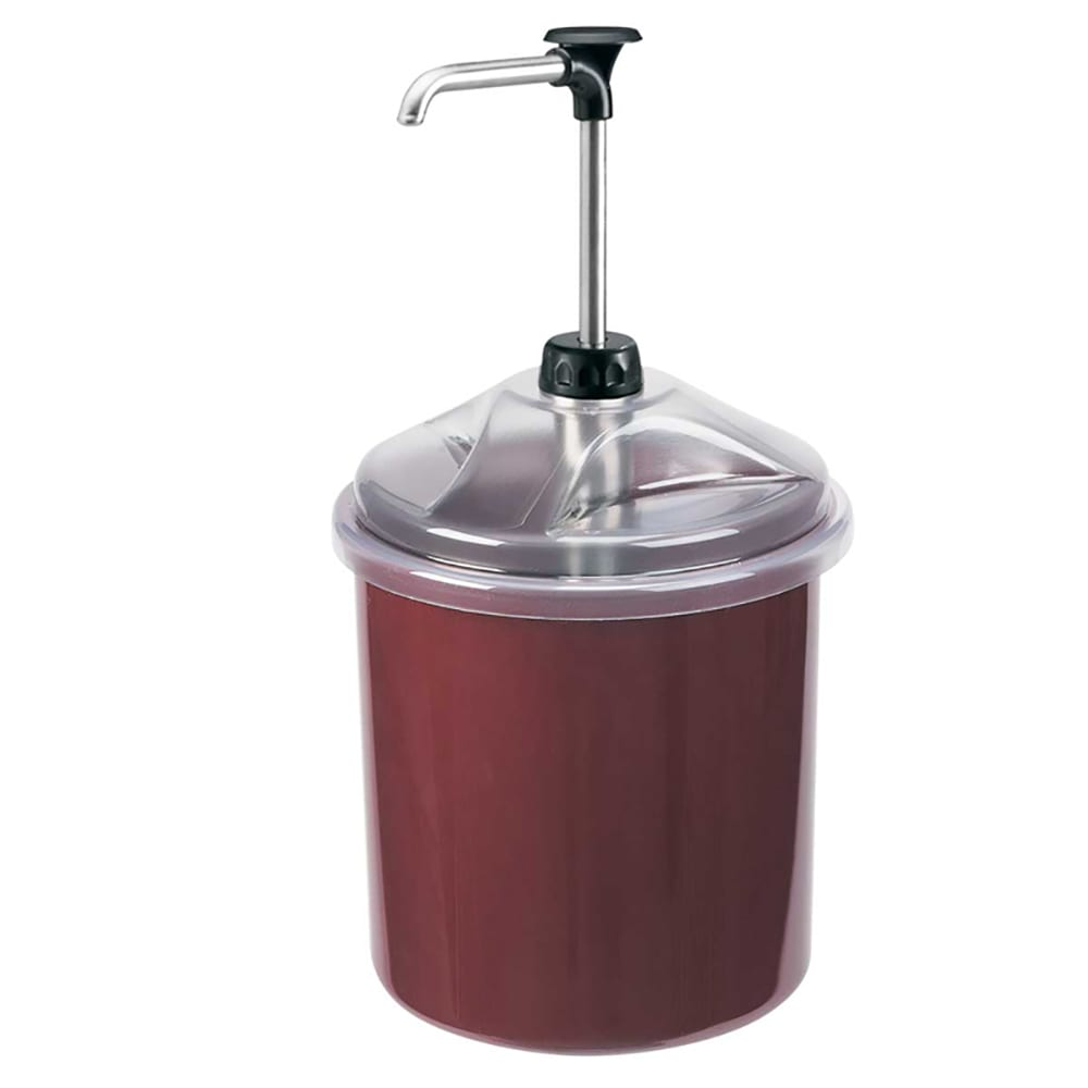 Server 88020 Condiment Syrup Pump Only w/ 1 oz/Stroke Capacity, Stainless