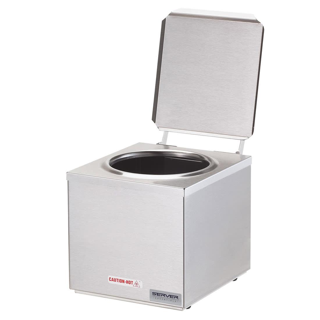 Server 92000 Single Dip Server, Cone Dip Warmer, SS, Countertop, 120 V