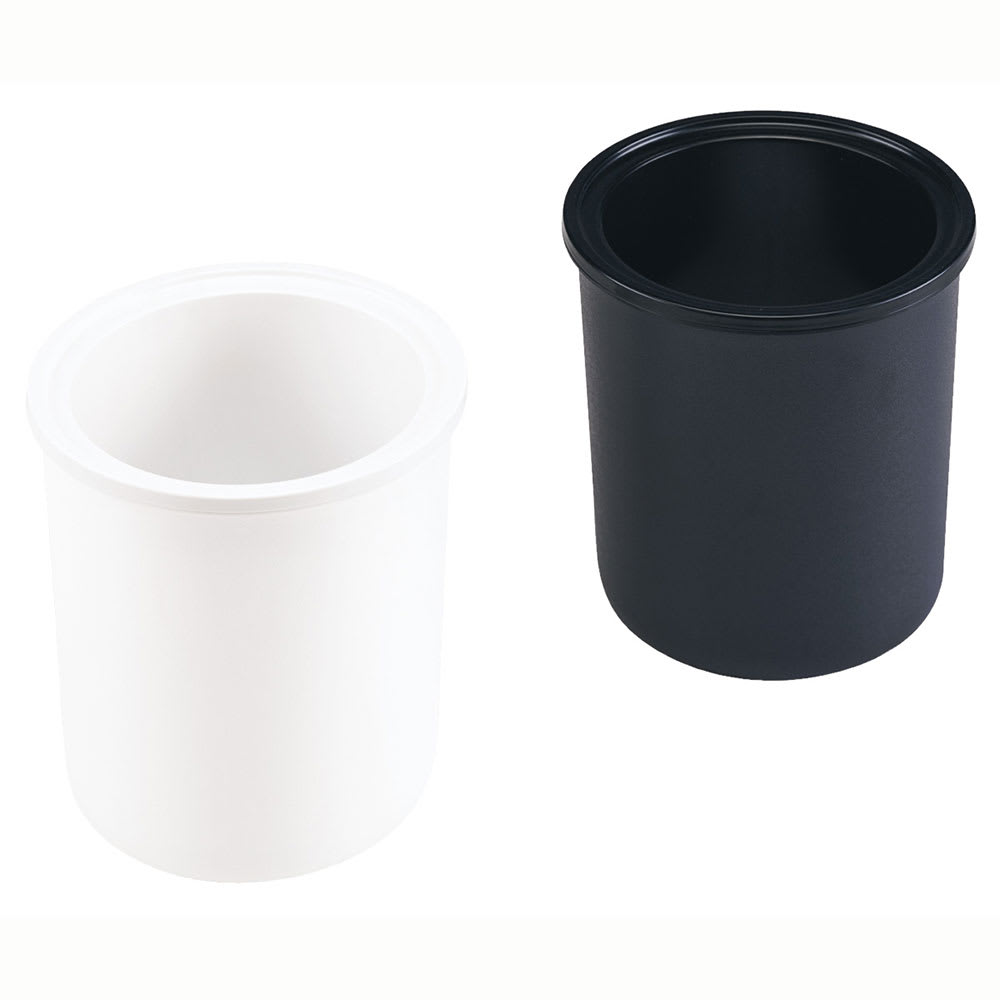 Server 94057 Condiment Dispenser Kit w/ (1) Black & (1) White Jar